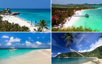 Οι 14 ωραιότερες παραλίες της Καραϊβικής