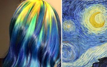 Μαλλιά εμπνευσμένα από... έργα τέχνης