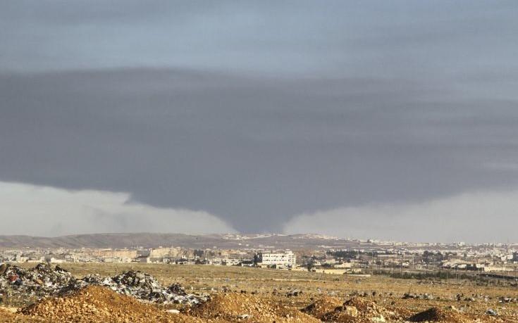 Τουρκικοί βομβαρδισμοί – αντίποινα βόρεια του Χαλεπίου