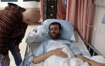 Τερματίζει την απεργία πείνας ο παλαιστίνιος δημοσιογράφος Μοχάμεντ αλ-Κικ