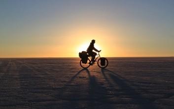 Γυρίζοντας τον κόσμο με ποδήλατο