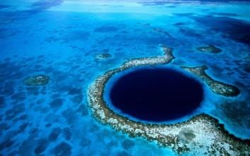 Η «Μεγάλη Μπλε Τρύπα» που καθηλώνει
