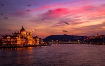 Η Βουδαπέστη όταν δύει ο ήλιος