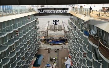 Έτσι κατασκευάζεται το μεγαλύτερο κρουαζιερόπλοιο του κόσμου