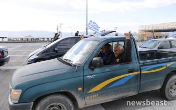 Με αυτοκινητοπορεία στην Αθήνα οι αγρότες στον Ισθμό