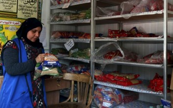 Ελλείψεις βασικών τροφίμων για καταναλωτές στην Αίγυπτο