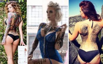 Κορίτσια και τατουάζ