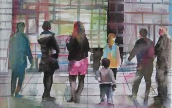 Καλλιτέχνες… εκπλήσσουν τους άστεγους της Αθήνας