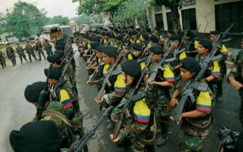 Ολοκληρώθηκε ο αφοπλισμός των Farc στην Κολομβία