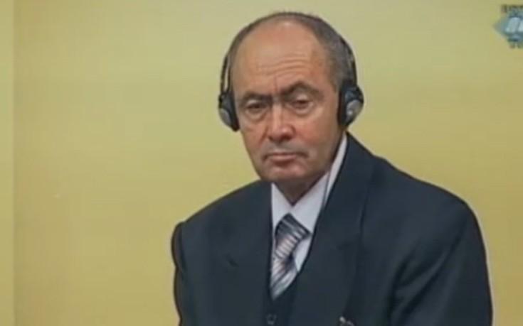 Πέθανε το «δεξί χέρι» του Ράτκο Μλάντιτς