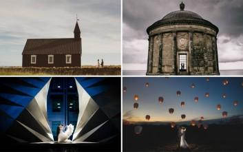 Όταν οι φωτογραφίες γάμου γίνονται μικρά αριστουργήματα τέχνης