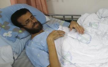 Παλαιστίνιος δημοσιογράφος κάνει απεργία πείνας εδώ και 75 ημέρες