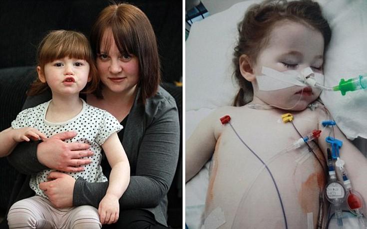 Πώς μια μπαταρία παραλίγο να σκοτώσει δίχρονο κορίτσι