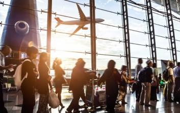 Σε τρεις μήνες διακινήθηκαν 5,7 εκατ. επιβάτες στα αεροδρόμια