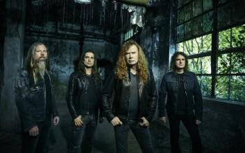 Οι Megadeth κατεβαίνουν Αθήνα