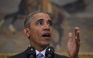 Ομπάμα: Θα στηρίζουμε την Ελλάδα σε όλη της την πορεία
