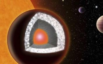Έλληνας ερευνητής ανίχνευσε την ατμόσφαιρα του «διαμαντένιου πλανήτη»