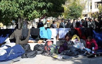 Προσωρινή δομή για πρόσφυγες σχεδιάζει να δημιουργήσει ο δήμος Αθηναίων