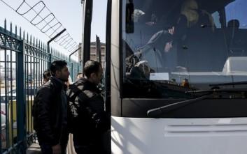 Πίσω στην Κοζάνη τα λεωφορεία με προορισμό την Ειδομένη