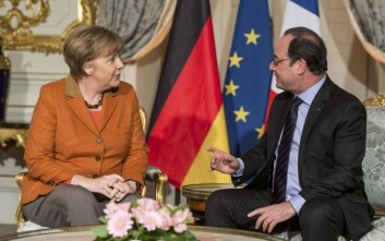 Συνάντηση Ολάντ - Μέρκελ για προσφυγικό και brexit