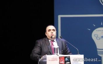 Τα δύο νέα του βιβλία παρουσιάζει ο Μανώλης Σφακιανάκης
