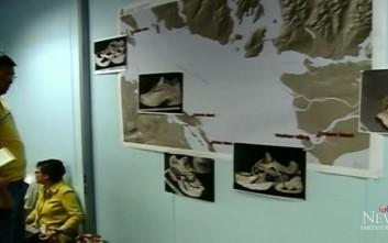 Το μυστήριο με τα παπούτσια με κομμένα πόδια που εντοπίζονται σε ακτές του Καναδά