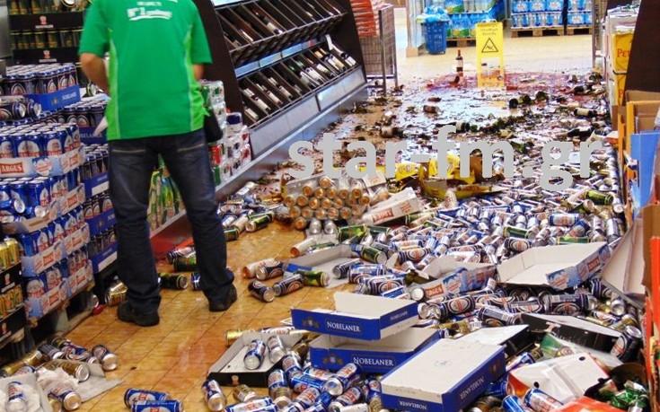 Διέλυσε σούπερ μάρκετ γιατί τα ποτά του θύμιζαν τον Αντίχριστο