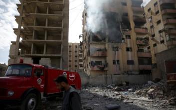 Πύραυλοι έπληξαν παιδικό νοσοκομείο και σχολείο στη Συρία