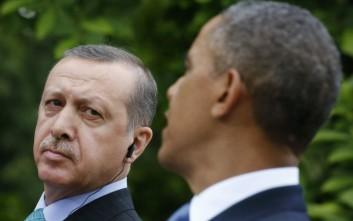 Ο Ερντογάν εκφράζει «λύπη» για τις δηλώσεις Ομπάμα