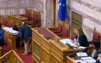 Διαξιφισμοί στη Βουλή για τους «πρόσφυγες που λιάζονται»