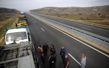 Επ' αόριστον αποκλεισμός του Προμαχώνα για τα φορτηγά