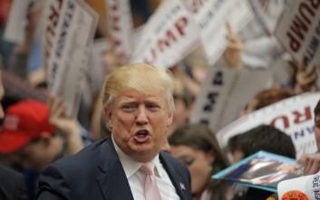 Στημένους κανόνες εκλογής των συνέδρων καταγγέλλει ο Τραμπ