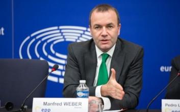 Βέμπερ: Αν γίνω πρόεδρος της Κομισιόν θα σταματήσω της ενταξιακές συνομιλίες με την Τουρκία