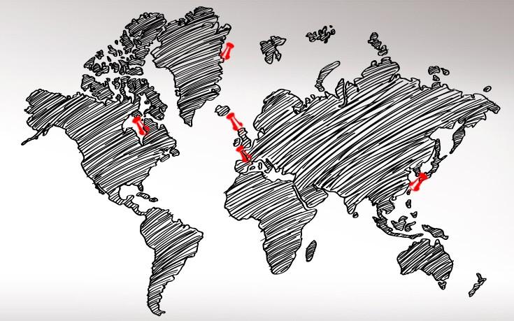 Πέντε σημεία που ο χάρτης του κόσμου είναι πιθανό να αλλάξει