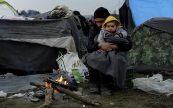 Νέα διαμαρτυρία προσφύγων στην Ειδομένη