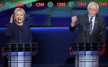 Πολιτικά ενισχυμένος ο Μπέρνι Σάντερς έναντι της Κλίντον