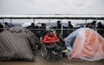 Ερυθρός Σταυρός: Αυξήθηκαν τα ιατρικά περιστατικά στην Ειδομένη