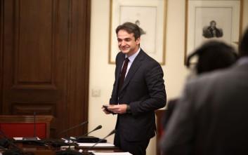 Μητσοτάκης: Η ΝΔ δεν θα συμμετάσχει στη συζήτηση για τον εκλογικό νόμο