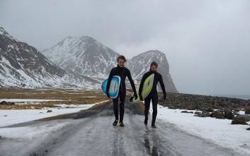 Δαμάζοντας τα παγωμένα κύματα της Αρκτικής