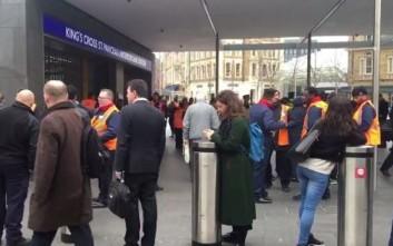 Εκκενώνουν τον πιο πολυσύχναστο σταθμό του Λονδίνου