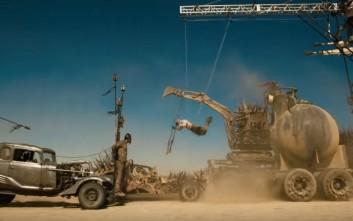 Εντυπωσιακά στιγμιότυπα με τον τρόπο που γυρίστηκε το Mad Max