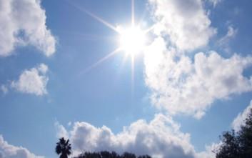 Γενικά αίθριος ο καιρός σε όλη τη χώρα την Κυριακή
