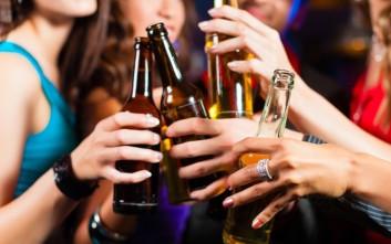 Από τα 13 τους χρόνια στο αλκοόλ οι νέοι στην Ελλάδα