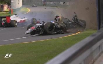 Τρομακτικό ατύχημα στο GP της Μελβούρνης