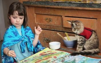Πώς μια γάτα άλλαξε ριζικά τη ζωή ενός κοριτσιού με αυτισμό