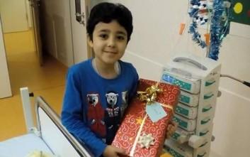 Ο 7χρονος Ραμί με λευχαιμία θα επανενωθεί με την οικογένειά του