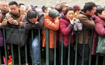 Ο πληθυσμός της Κίνας θα αυξηθεί κατά 45 εκατ. έως το 2020