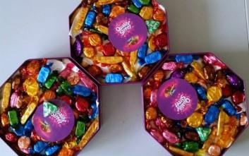Είχε κρύψει την κοκαΐνη μέσα στα σοκολατάκια