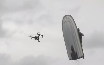Τζετ σκι συγκρούστηκε με... drone!