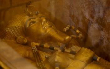 Κρυμμένοι θάλαμοι μέσα στον τάφο του φαραώ Τουταγχαμών